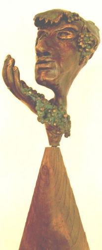 Bronze, Sandstein, Surreal, Skulptur