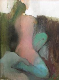 Figural, Malerei, Bedürfnis, Ölmalerei