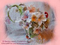 Hut, Textil, Blüte, Einzelstück