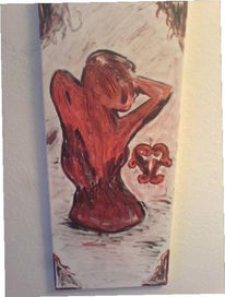 Blutgräfin, Serie, Blut, Malerei