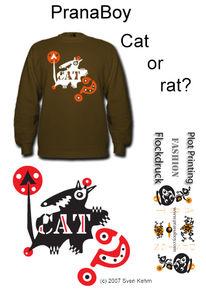 Katze, Maus, Natur, Mode