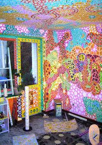 Gemälde, Altenberg, Wandmalerei, Alleins