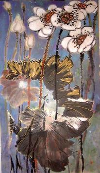 Chinesisch, Blütentusche, China, Malerei