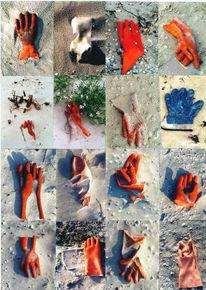 Sommer, Handschuhe, Fotografie, Meer