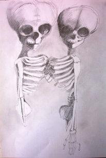 Leben, Menschen, Tod, Zeichnung