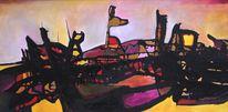 Abstrakter expressionismus, Farben, Freestyle, Malerei