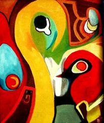 Abstrakt, Ölmalerei, Fotografie