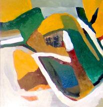 Malerei, Abstrakt, Ölmalerei