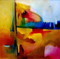 Ölmalerei, Pfadfinder, Selbstportrait, Malerei