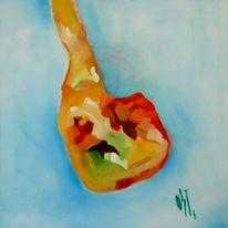 Ölmalerei, Abstrakt, Fotografie, Genesis