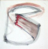 Malerei, Ölmalerei, Abstrakt, Engel