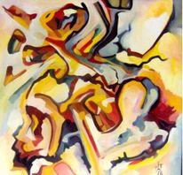 Ölmalerei, Abstrakt, Malerei, Tag
