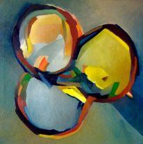 Ölmalerei, Malerei, Abstrakt, Nest