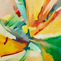 Langsam, Nass, Ölmalerei, Malerei