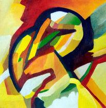 Ölmalerei, Malerei, Abstrakt