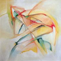 Ölmalerei, Morgen, Sein, Saagittarius