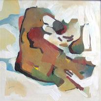 Abstrakt, Malerei, Ölmalerei, Skorpion