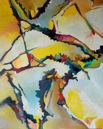 Schwach, Lounge, Expressionismus, Abstrakt wald