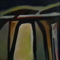 Ölmalerei, Birotic art, Abstrakter expressionismus, Malerei
