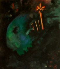 Spuren, Keltische, Malerei, Abstrakt