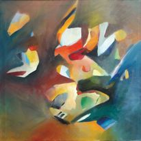 Abstrakt, Wild, Malerei, Glaube