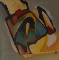 Ölmalerei, Abstrakt, Expressionismus, Malerei