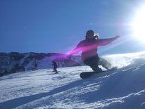 Fotografie, Snowboarden, Schnee