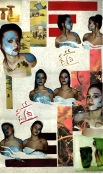 Collage, Surreal, Fotografie, Fotomontage