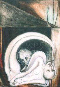 Malerei, Surreal, Amor, Psyche