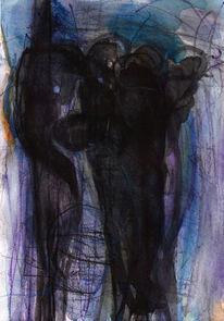 Nacht, Kalt, Abstrakt, Surreal