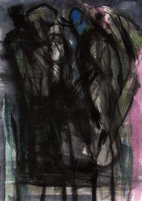 Abstrakt, Nacht, Surreal, Malerei