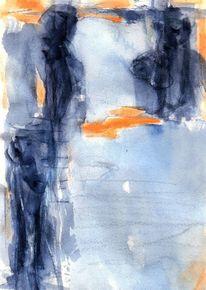 Abstrakt, Figural, Nacht, Surreal