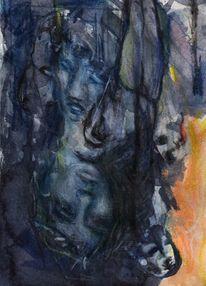 Figural, Abstrakt, Surreal, Malerei
