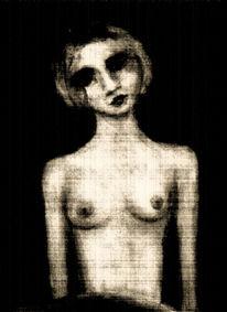 Abstrakt, Figural, Surreal, Mischtechnik