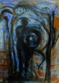 Traum, Psyche, Nacht, Malerei