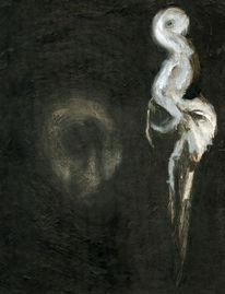 Figural, Malerei, Schreck