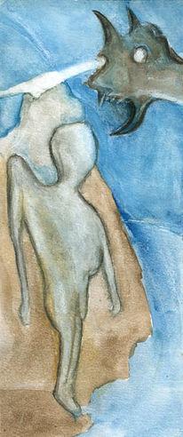 Malerei, Figural, Menschen