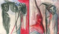 Malerei, Vi, Herzen, Schlagen