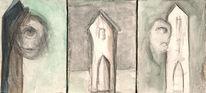 Malerei, Figural, Turm