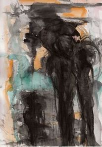 Nacht, Abstrakt, Surreal, Kalt