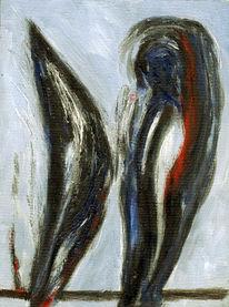 Malerei, Kopf, Herz