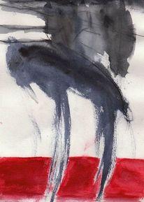 Surreal, Katze, Abstrakt, Malerei