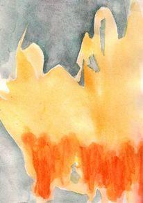 Sommer, Capri, Surreal, Abstrakt