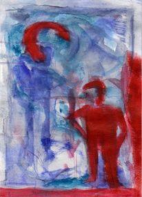 Blau, Rot, Kalt, Surreal