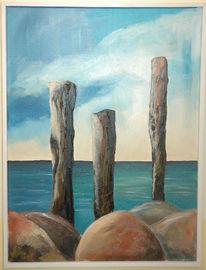 Landschaft, Sonne, Wasser, Küste