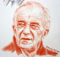 Gesicht, Partisan, Zeichnung, Menschen