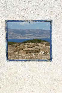 Gemälde, Meer, Fenster, Himmel