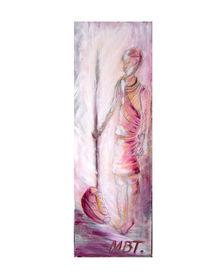 Pink, Malerei, Massai, Figural