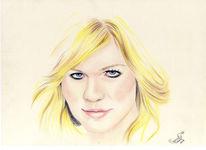 Zeichnung, Portrait, Zeichnungen, Dunst
