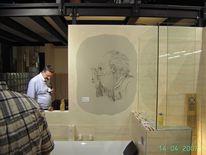Fresko, Zeichnung, Portrait, Zeichnungen